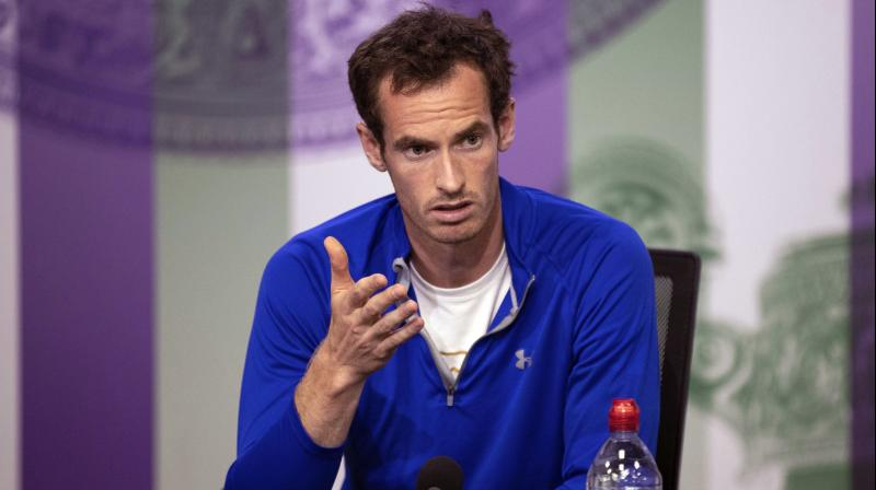 """I've made significant progress in practice and matches over the last 10 days but, after lengthy discussions with my team and with a heavy heart, we've decided that playing best-of-five-set matches might be a bit too soon in the recovery process,"" said Andy Murray. (Photo: AP)"