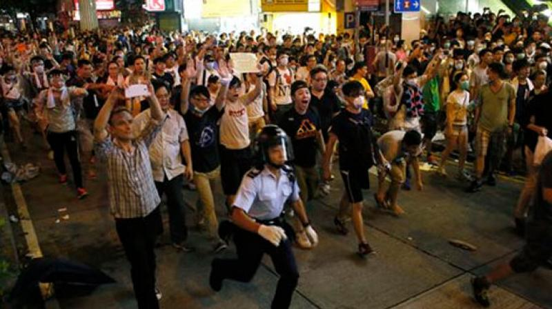 The auxiliary bishop of Hong Kong's Catholic Diocese, the Rev. Joseph Ha, appealed to the protesters to avoid violence.  (Photo: Representational)