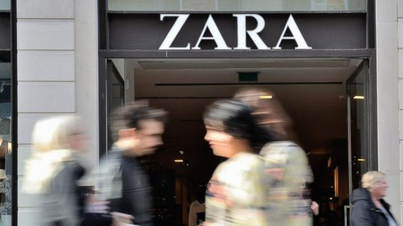 Inditex has worked with its alarm provider, Tyco, to incorporate a tiny microchip into security tags carrying style and size information about the garment.