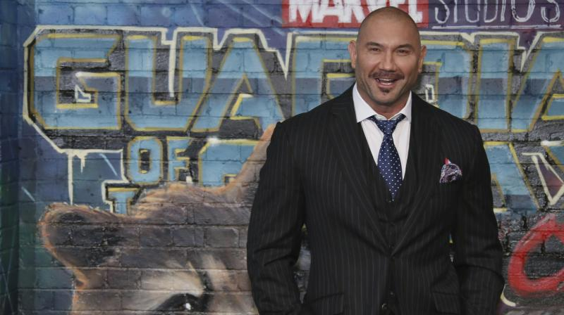 This year, Bautista will be seen reprising his role as Drax the Destroyer in 'Avengers: Endgame', which he will follow up with 'Stuber'. (Photo: AP)