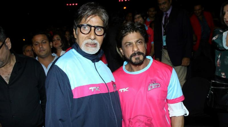 Amitabh Bachchan and Shah Rukh Khan have worked in multiple films together.
