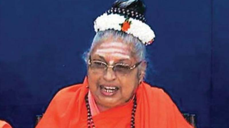 Lingayat seer Jagadguru Mate Mahadevi