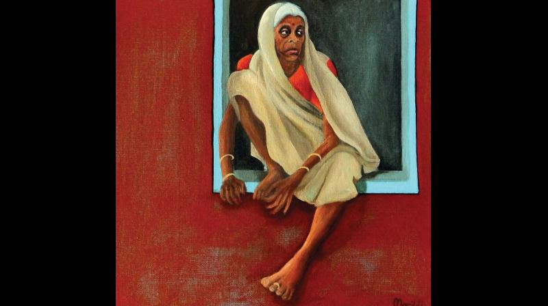 Ildikó Morovszki-Halász, a Hungarian artist who lives and works in India, has a famous predecessor - Amrita Sher Gil. And it doesn't end there. Ever since she moved here with her family in 2015, her works have been inspired largely by India and by the iconic painter.
