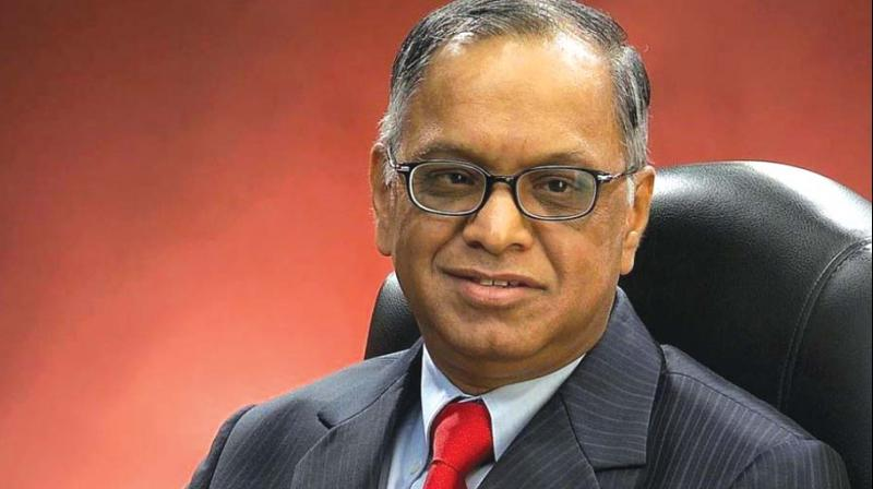 Mr N R Narayana Murthy.