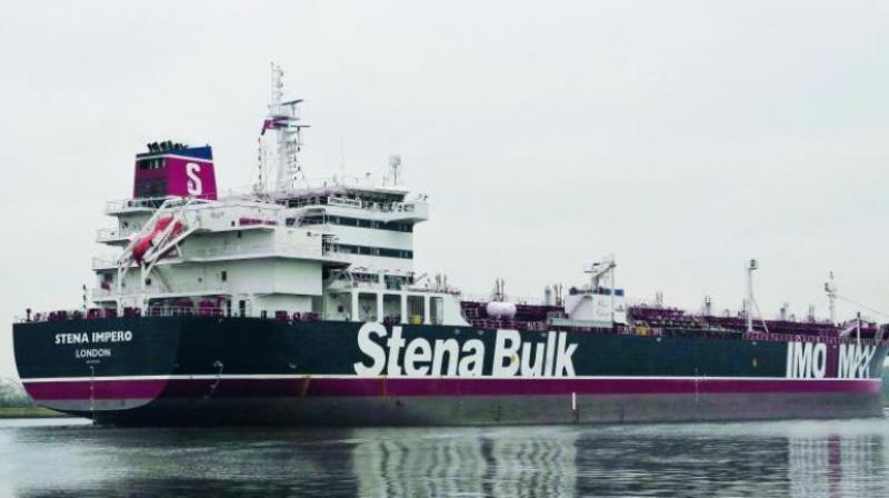 Stena Bulk, a Swedish company which owns the vessel, said they have been unable to contact the ship, which was seized in the Strait of Hormuz. (Photo: AFP)