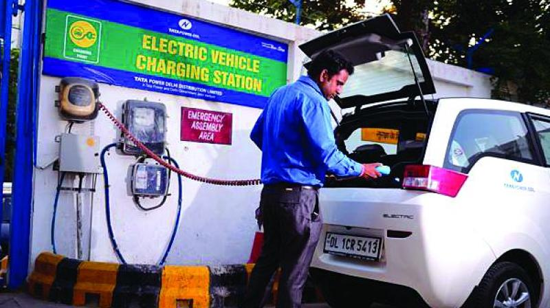 The Council had, in its June meeting, referred the issue relating to the GST concessions on electric vehicle, electric chargers and hiring of electric vehicles, to an officers' panel.