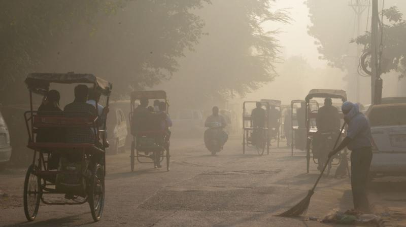 The AAP government announced that the odd-even scheme will be implemented for five days, starting Nov 13, to tackle alarming level of air pollution in Delhi. (File photo/PTI)