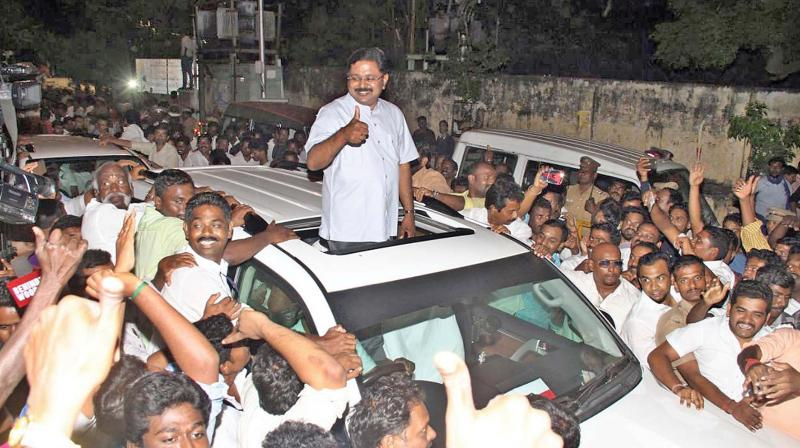 Dhinakaran wins RK Nagar seat by over 40, 000 votes