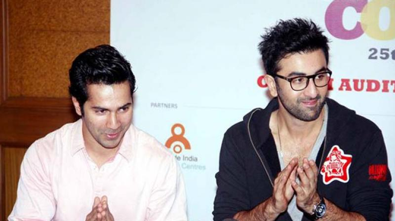 Varun Dhawan and Ranbir Kapoor share a great chemistry off-screen.