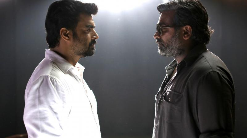 Vikram Vedha is a nuanced and well-rounded film in the deadly combo of Madhavan and Sethupathi and a definite highlight of 2017.