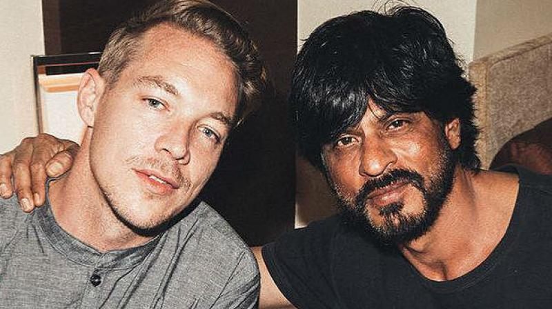 Shah Rukh Khan had visited Goa to watch Diplo's performance. (Photo: Twitter)