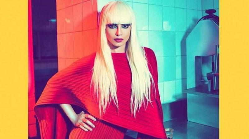Priyanka Chopra in her blonde avatar. (Photo: Instagram/hairbypriyanka)