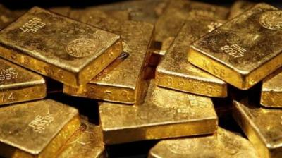 Spot gold price for 24 Karat in Delhi was trading down by Rs 145 to Rs 38,925 on weak global prices and a stronger rupee. The spot rupee was trading 5 paise stronger against the dollar during the day, HDFC Securities Senior Analyst - Commodities, Tapan Patel said. (Photo: Representational)