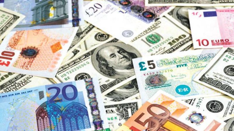 The country's foreign exchange reserves rose by USD 503.6 million to touch a life-time high of USD 424.864 billion in the week to April 6.