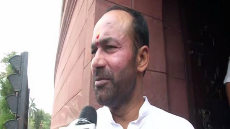 MoS Home Affairs G Kishan Reddy informed the Lok Sabha about the statistics while replying to an unstarred question by Congress lawmaker Shashi Tharoor regarding the number of security personnel who lost their lives and compensation provided to their families. (Photo: ANI)