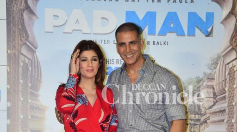 Akshay Kumar wasn't Twinkle Khanna's first choice for Pad Man