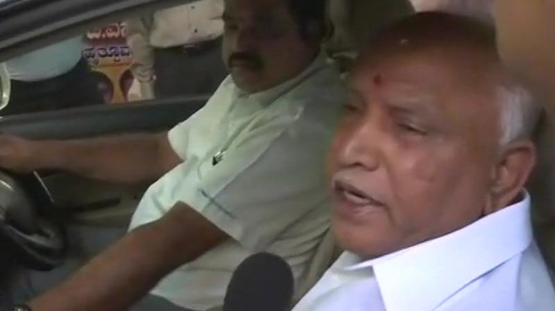 Karnataka BJP president BS Yeddyurappa said he was already in talks with party leaders about the selection of candidates and the names would be finalised in a couple of days. (Photo: File | ANI)