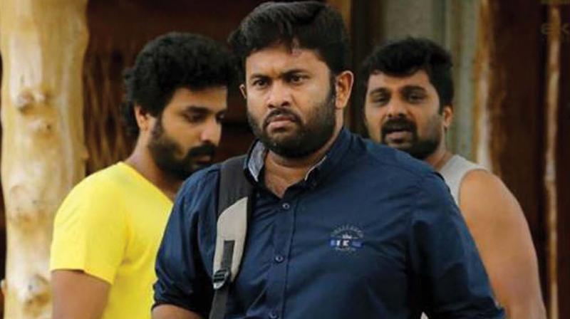 Still from the movie Viswavikhyatharaya Payyanmar.