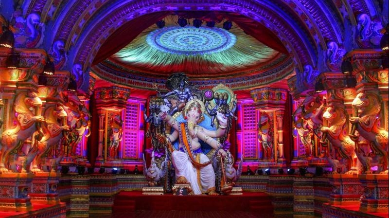 Based on His form, Ganesh idols are of 32 types. (Photo: PTI)