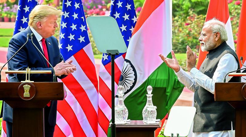 Donald Trump, PM Modi discuss religious freedom, Jammu &Kashmir