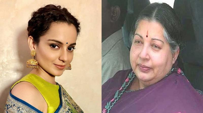 Kangana Ranaut to play J Jayalalithaa in AL Vijay's biopic