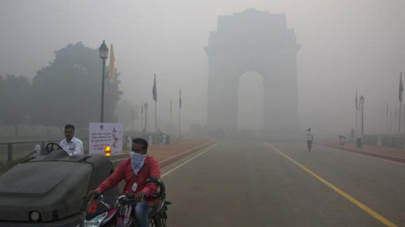 Delhi has been reeling under the worst pollution levels in the last 17 years.  (Photo: AP)