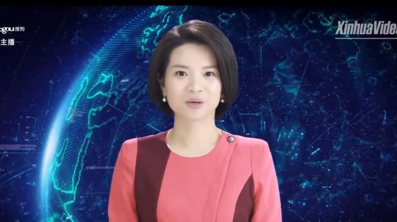 Xin Xiaomeng is modeled after real life Xinhua news anchor Qu Meng and was developed by Xinhua and tech firm Sogou Inc.