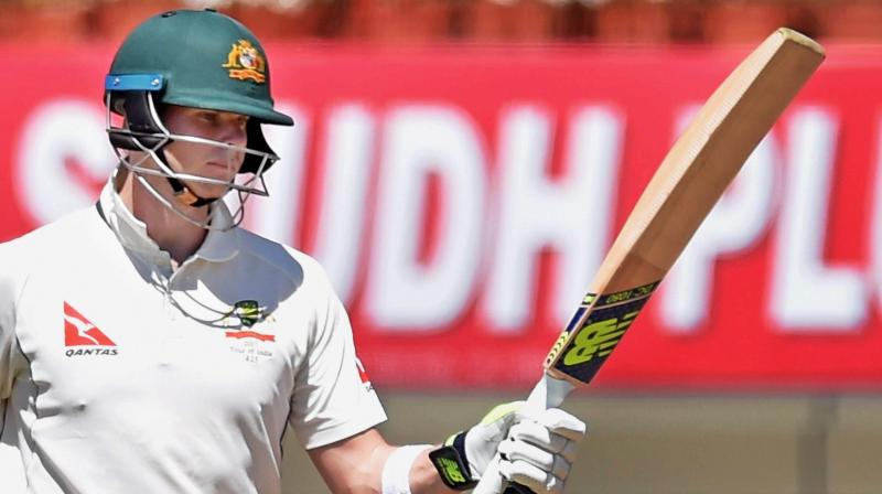 Steve Smith took 97 innings to reach the 5,000-run mark, just two innings behind former Aussie opener Matthew Hayden. (Photo: PTI)