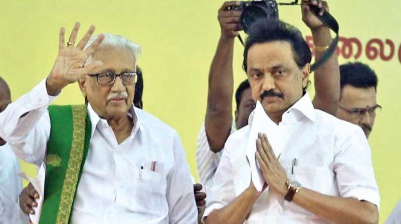 Image result for stalin became the leader of DMK