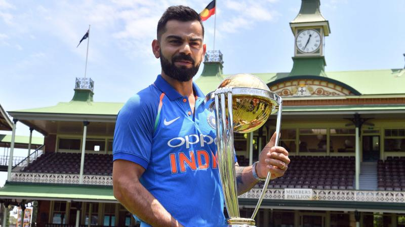 Image result for icc world cup 2019 virat kohli