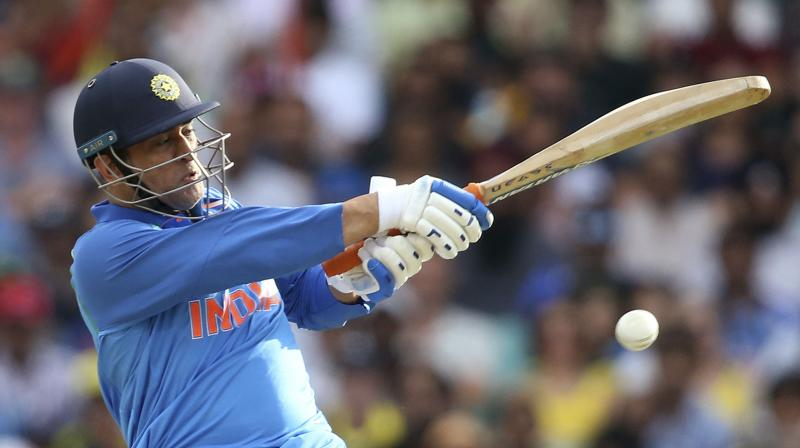 Dhoni was recently awarded the Man of the series for his match-winning knocks which helped India win their maiden ODI series in Australia. (Photo: AFP)