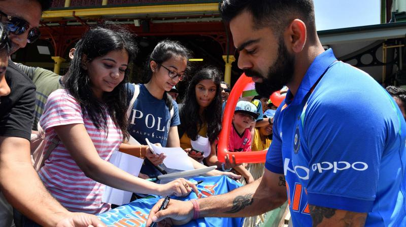 New Zealand vs India:Virat Kohli and Co touchdown in Auckland