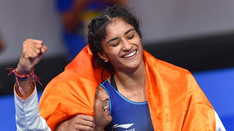 Vinesh insisted that the mindset of Indian wrestlers have greater self-belief. (Photo: PTI)