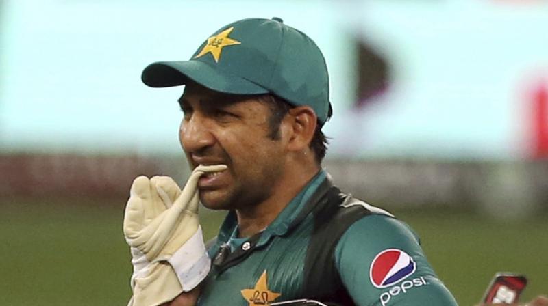 Sarfraz was heard on a stump microphone saying in the Urdu language: