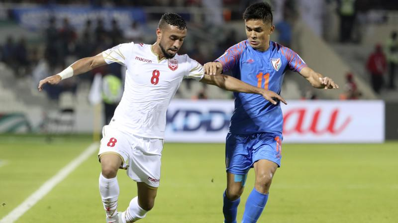 """The former Liverpool and Barcelona midfielder called Chhetri a """"special player"""". (Photo: AFP)"""