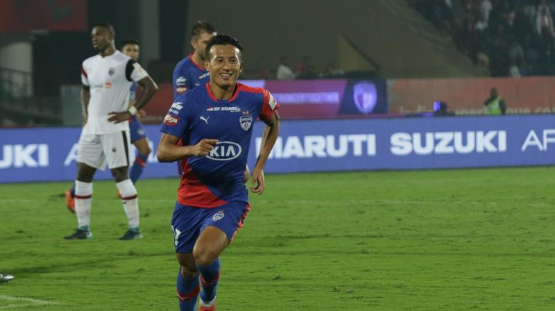 Playing for NEROCA would provide Chencho a chance to improve his confidence and gain experience. (Photo: ISL Media)