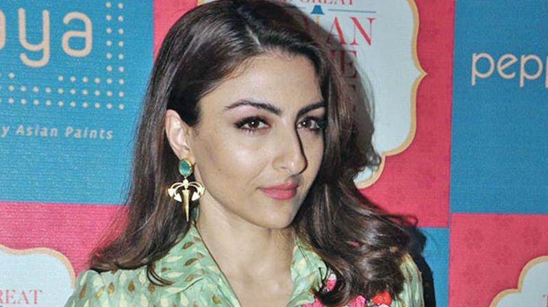The Rang de Basanti actress was at attending a fashion event as a chief guest where she was made to go through security frisking like any other person, before entering the venue.
