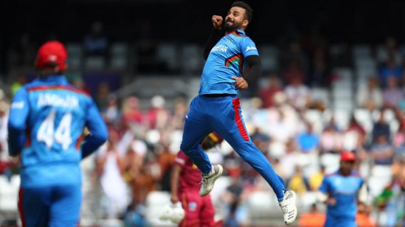 Aghanistan too have made two changes, leaving out Hamid Hassan and Hashmatullah Shahidi to give a game to Dawlat Zadran and Sayed Shirzad. (Photo: cricketworldcup/twitter)