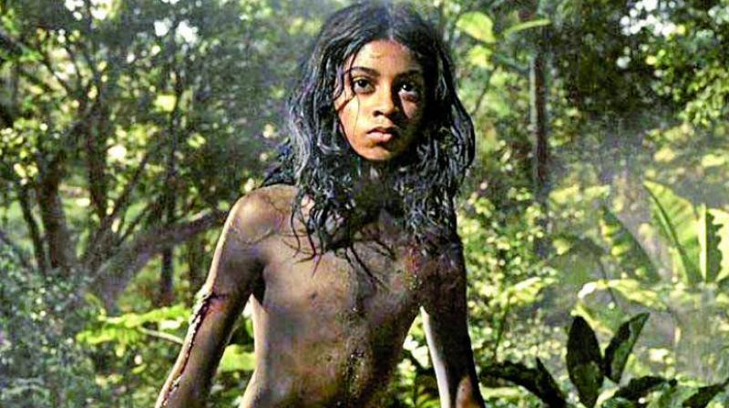 Rohan Chand as Mowgli in the Andy Serkis directorial.