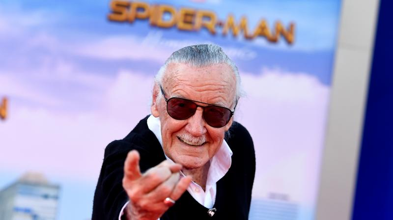 Stan Lee at the Los Angeles premiere of 'Spider-Man: Homecoming' at the TCL Chinese Theatre in June, 2017. (Photo: AP)