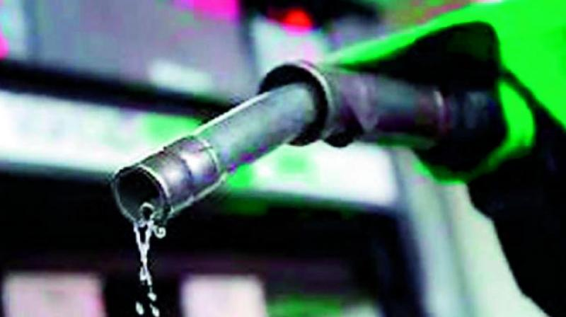 Though the RTC gets fuel at subsidised prices as a bulk consumer, the corporation has to bear its share of burden from the Union Budget's decision to increase Rs 1 per litre on excise duty on fuels. (Representational image)