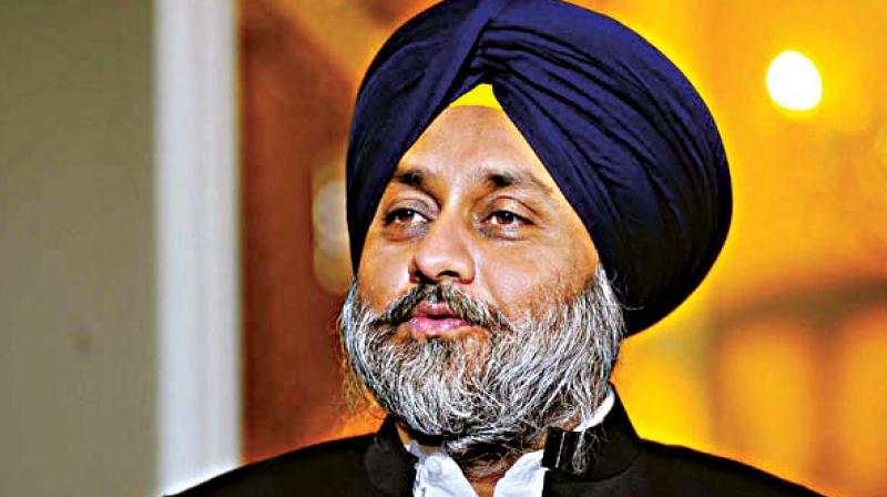 Pakistan government and ISI do the entire planning. They provide arms and ammunition to these terrorist groups said SAD president Sukhbir Singh Badal. (Photo: File)