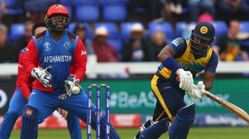Karunaratne and Kusal Perera settled quickly and grabbed the initiative, putting on 92 for the first wicket for the out-of-form side. (Photo: AFP)