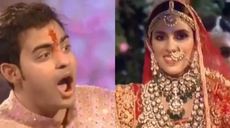 Akash-Shloka take 'pheras', Mrs Mehta gets emotional