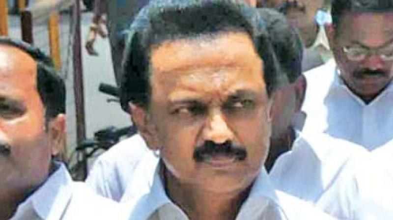 DMK chief M K Stalin (Photo: File)