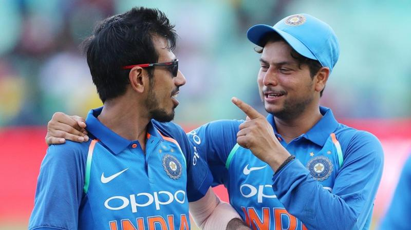 Kuldeep Yadav and Yuzvendra chahal. (Photo: File)