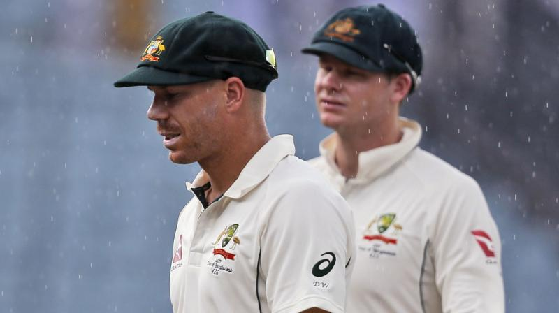 Smith and Warner were handed year-long international bans for their roles in a ball-tampering scandal that rocked Australian cricket in March. (Photo: AP)