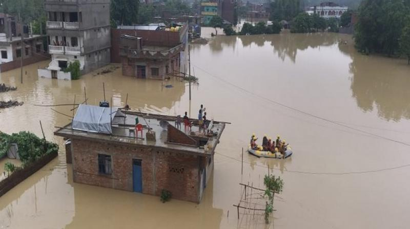 As per official records, the calamity has caused damage amounting to over one billion Nepalese rupees. (Photo: ANI)