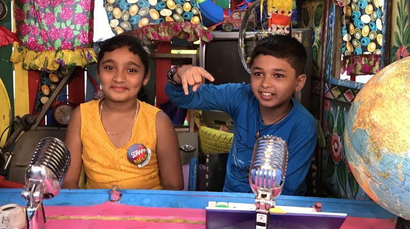 It is an original, made in India show, where in an hour-long format, each show takes on a new problem that's important to kids.