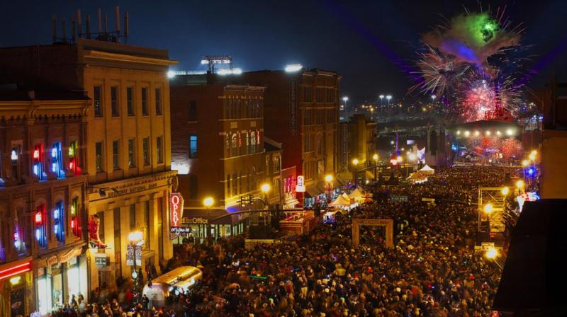 US hosts some of the biggest and most widely televised New Year's Eve events in the world.
